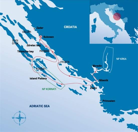 Itinerari Croazia - Sukosan 1