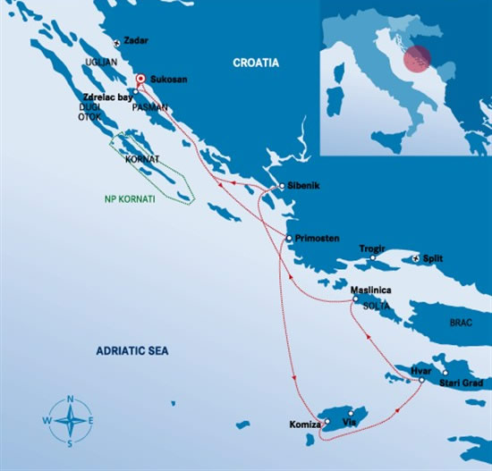 Itinerari Croazia -  Sukosan 2