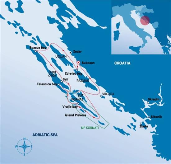 Itinerari Croazia -  Sukosan 3