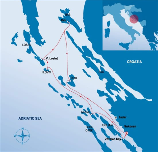 Itinerari Croazia -  Sukosan 4