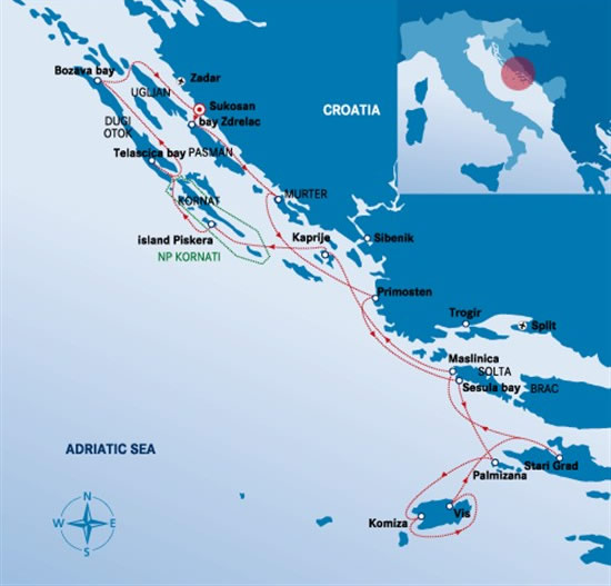 Itinerari Croazia - Sukosan 5